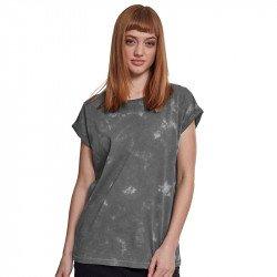 BY055 - T-shirt Femme Batik épaules tombantes