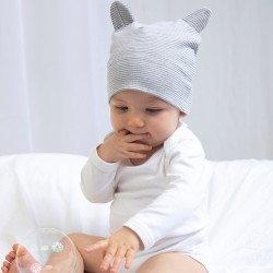 BZ051 - Petit bonnet avec des oreilles