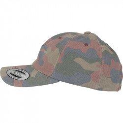 YP030 - Casquette profil bas en coton Camouflage (6245FC)