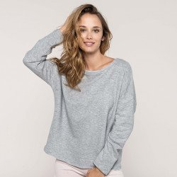 "K471 - Sweat-shirt femme ""Loose"""