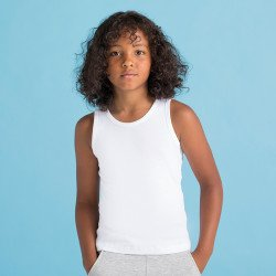 SM123 - Débardeur « Feel good » stretch pour enfants