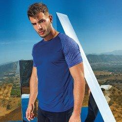TR018 - T-shirt manches contrastées performance TriDri®