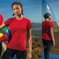 TR024 - T-shirt à empiècement en relief femme TriDri®