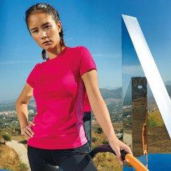 TR048 - T-shirt performance à empiècement contrasté femme TriDri®