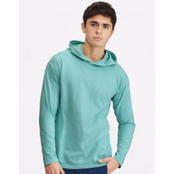 4900 - Adult Heavyweight LS Hooded Tee