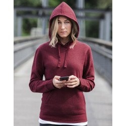 R-261F-0 - Ladies` Authentic Melange Hooded Sweat