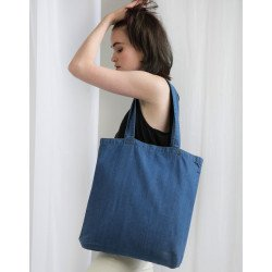 M195 - Denim Tote Bag
