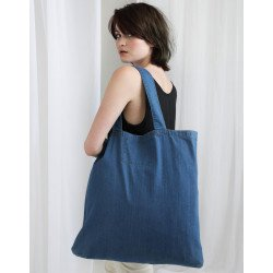M196 - Denim Shopper