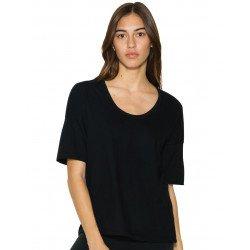 RSA2320W - Women`s Power Wash Deep U-Neck T-Shirt