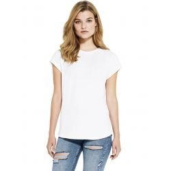 SA16 - Women's rolled sleeve t-shirt