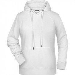 8023 - Sweat-shirt capuche bio Femme