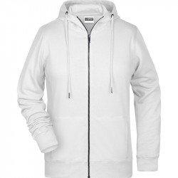 8025 - Sweat-shirt capuche bio Femme