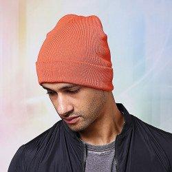 NS001 - Bonnet en tricot à bord relevé