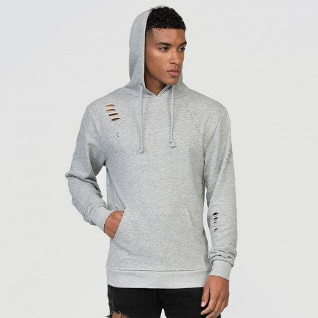JH019 - Sweat-shirt à capuche vintage