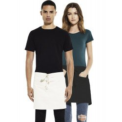 EP78 - Unisex short apron with pockets