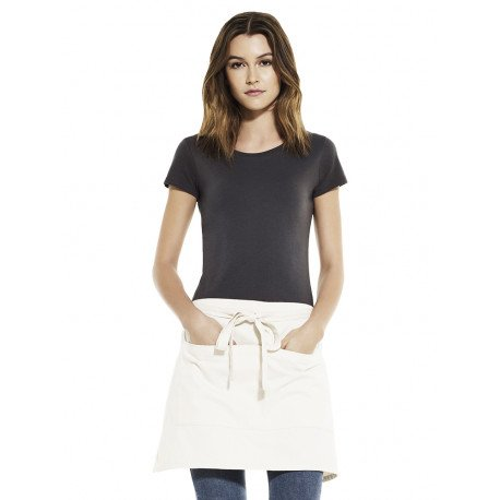 EP78 - Unisex short apron with pockets