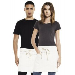 SA78 - Unisex short apron with pockets