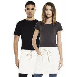 SA78 - Unisex short apron with pockets