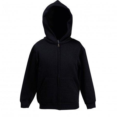 62-035-0 - Sweat-shirt zippé à capuche Premium 70/30 Enfant
