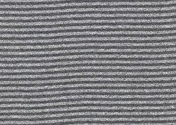 Black Marl / Dark Heather Stripe