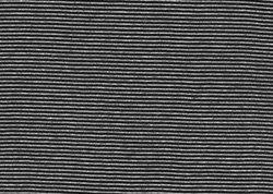 White / Black Pin Stripe